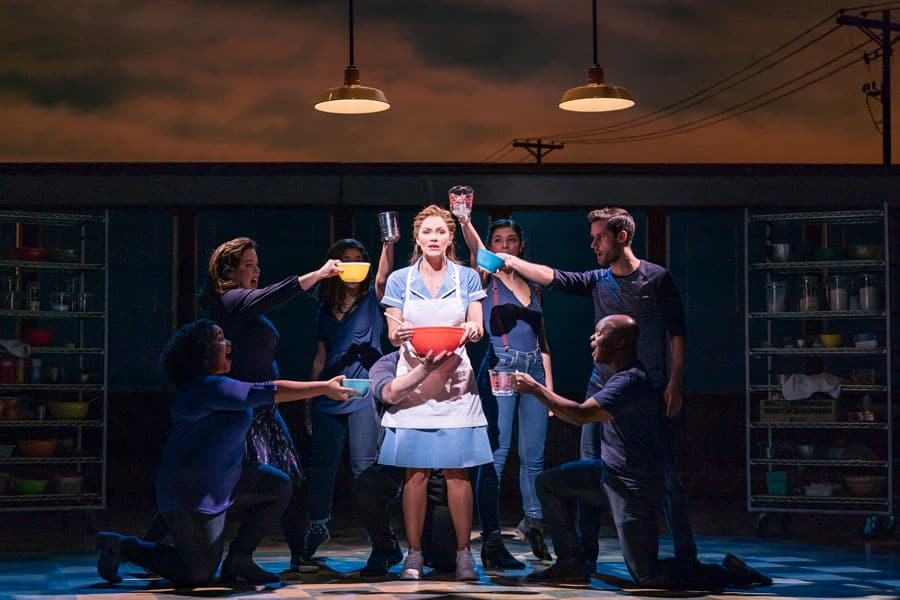 FIRST LOOK: Katharine McPhee in Waitress the musical, Adelphi Theatre