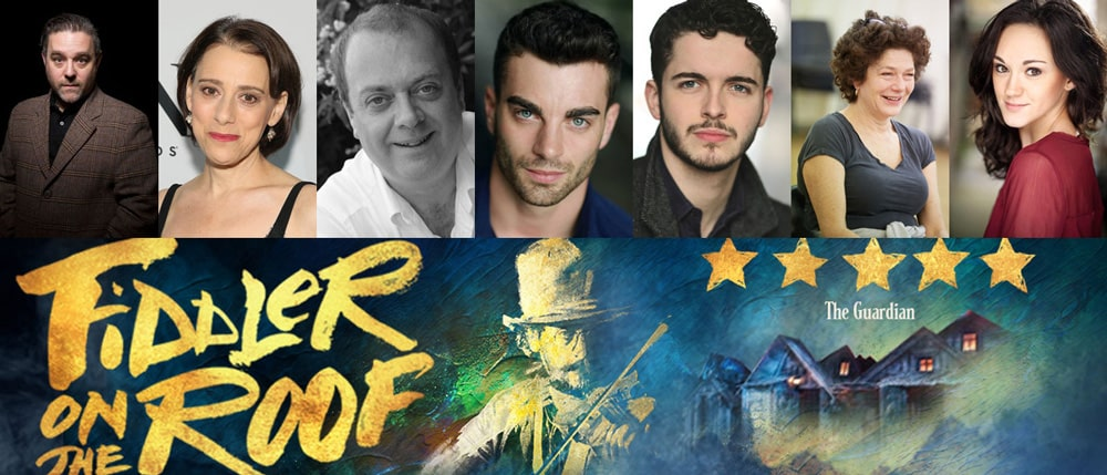 Casting announced for Fiddler on the Roof West End transfer