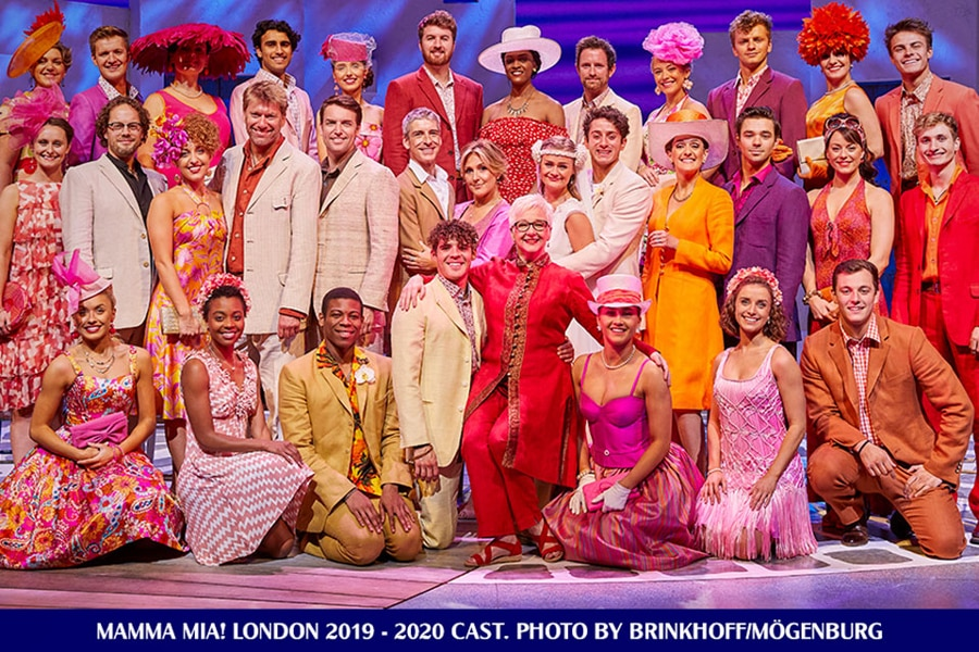 Mamma Mia UK Tour 2020 Cast
