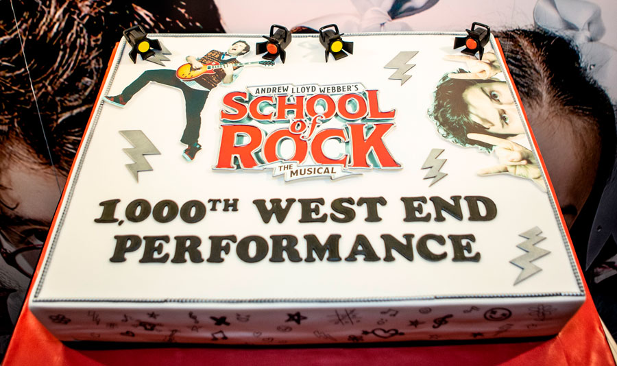 School Of Rock 1000th West End performance