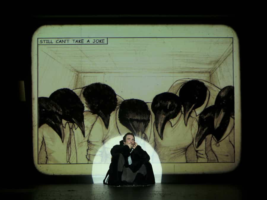 Grief Is The Thing With Feathers Barbican Theatre