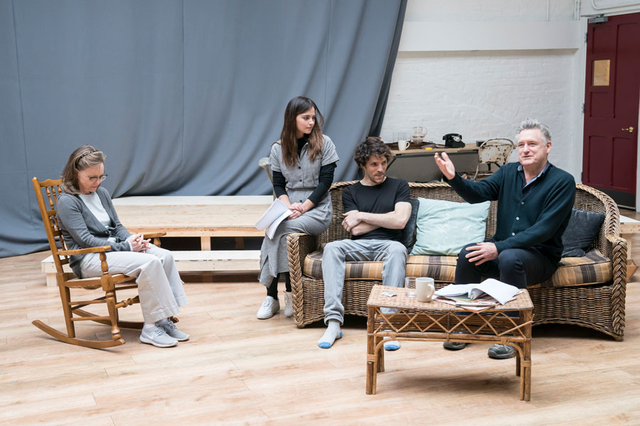 FIRST LOOK: All My Sons rehearsals at the Old Vic
