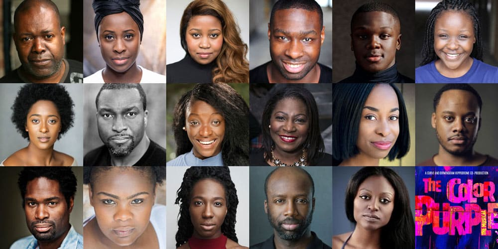 2b33a6c96286 Casting announced for The Color Purple at Curve and Birmingham ...