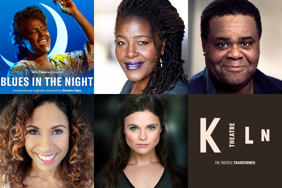 Blues In The Night cast Kiln Theatre