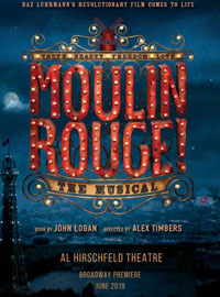 Moulin Rouge tickets Broadway