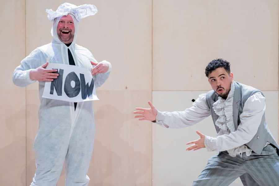 The Show In Which Hopefully Nothing Happens review Unicorn Theatre