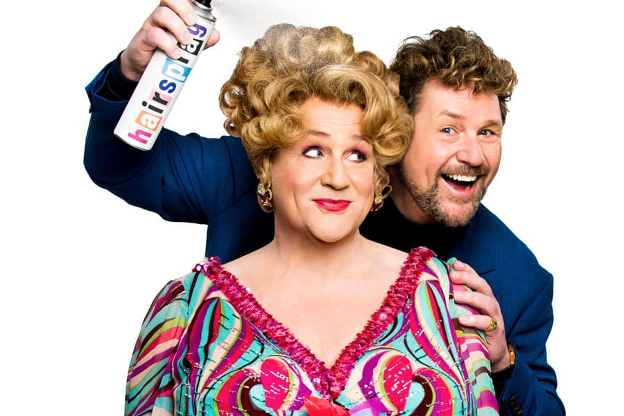 Michael Ball is back As Edna Turnblad in Hairspray at the London Coliseum