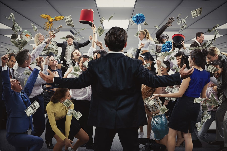 Immersive Production of The Wolf Of Wall Street opens in London September 2019