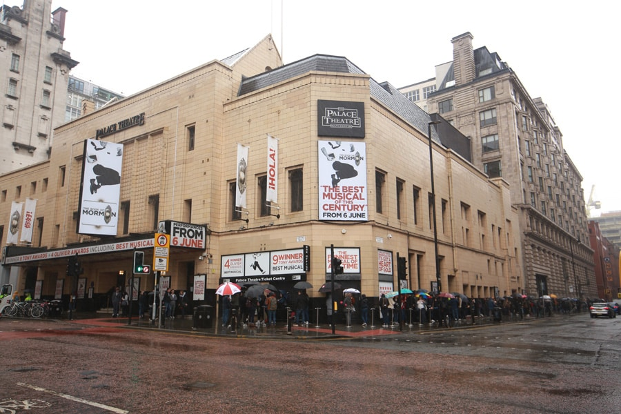 Book Of Mormon Palace Theatre Manchester
