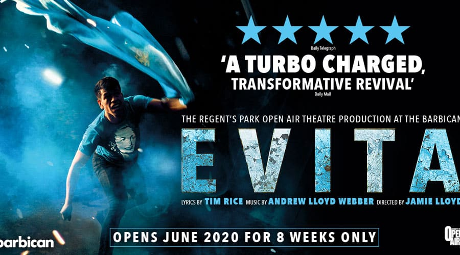 evita-tickets-barbican-theatre-london-2020