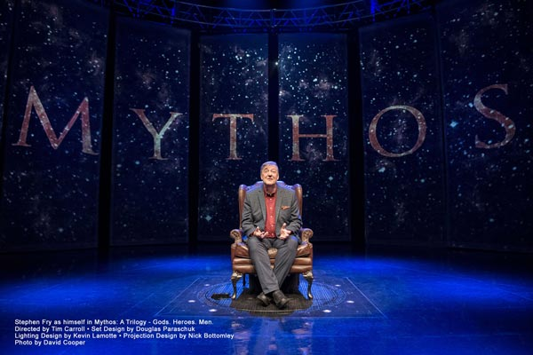 Stephen Fry Mythos UK Tour