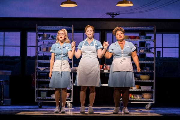 Waitress Adelphi Theatre London