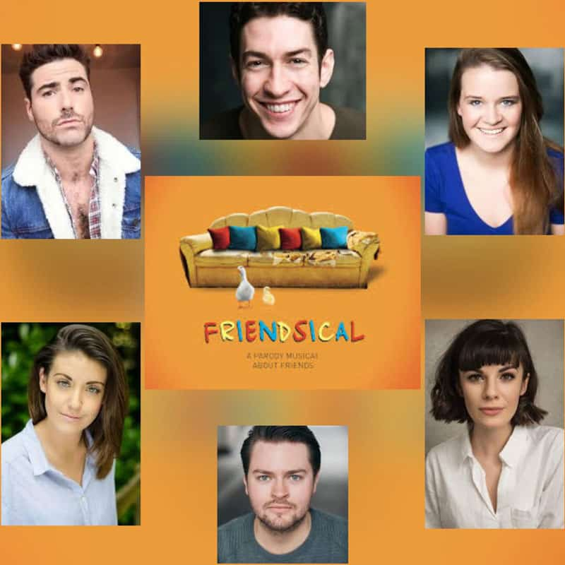 Friendsical UK Tour cast