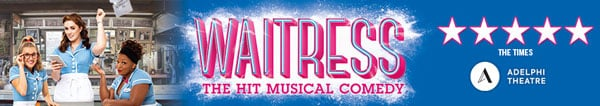 Waitress tickets London Adelphi Theatre