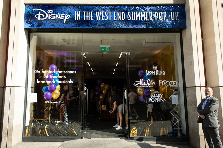 FIRST LOOK: Disney In The West End Summer Pop Up