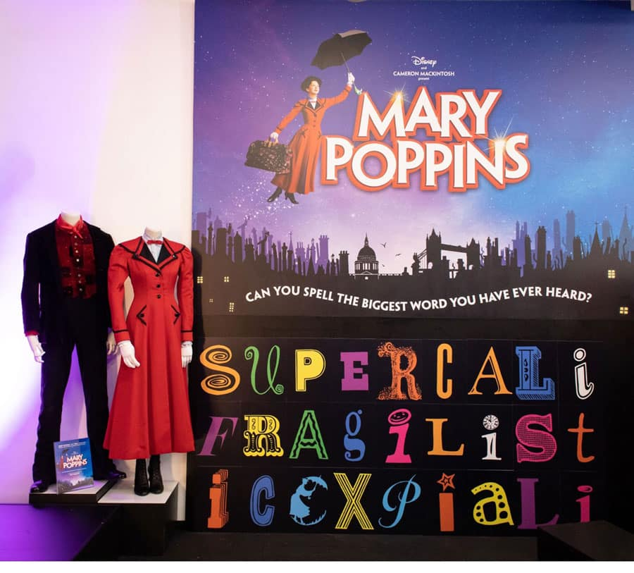 Mary Poppins the musical on stage