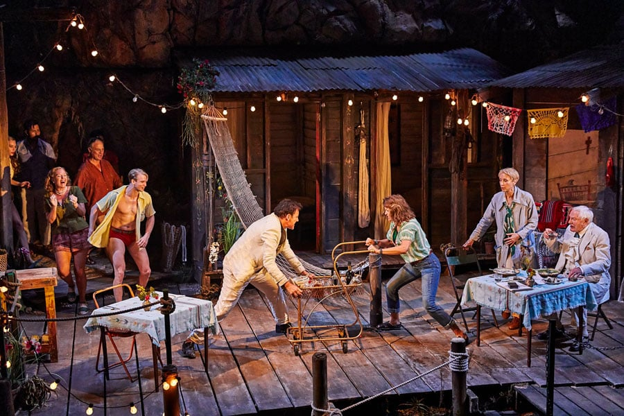 Night of the Iguana review Noel Coward Theatre