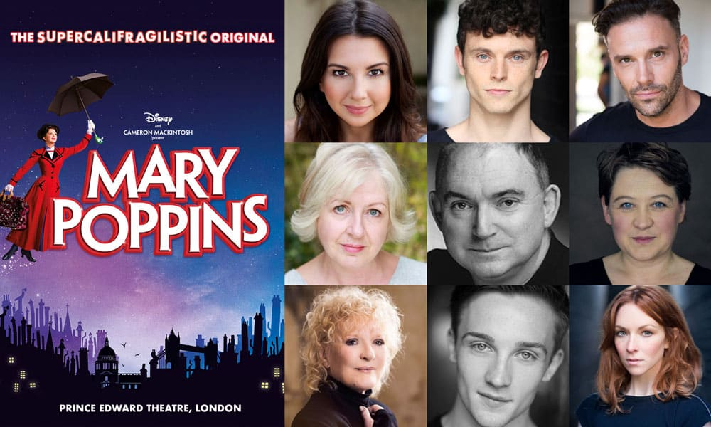 Mary Poppins London Full Casting Announced Book Tickets Now