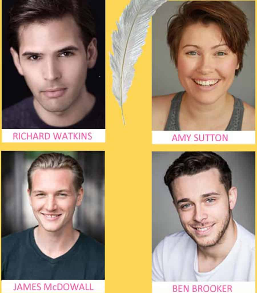 tickle musical cast