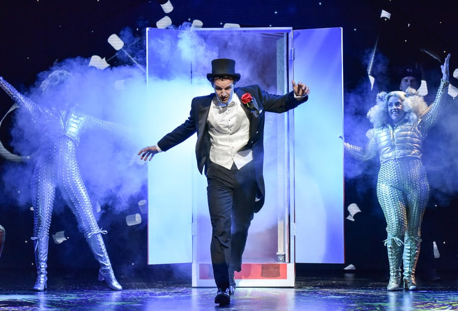 FIRST LOOK: Magic Goes Wrong, Vaudeville Theatre London
