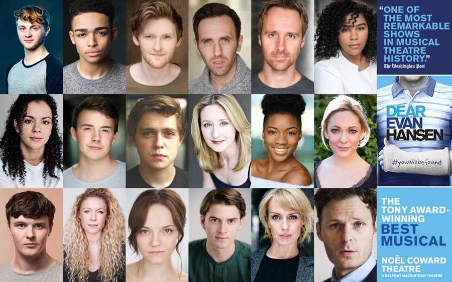Dear Evan Hansen London Cast announced