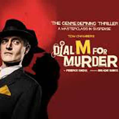 Dial M For Murder Tour starring Tom Chambers - Book Now!