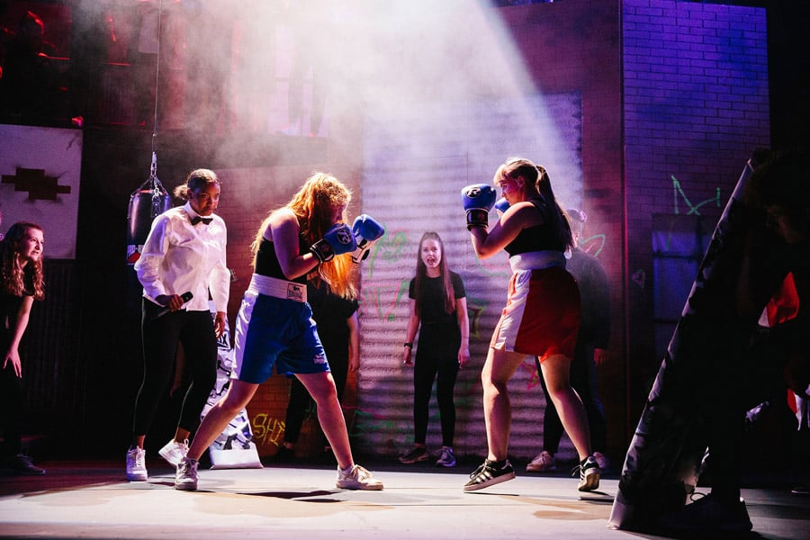 Fight Like A Girl British Youth Music Theatre