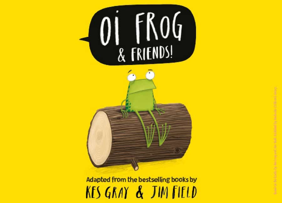 Oi Frog and Friends UK Tour