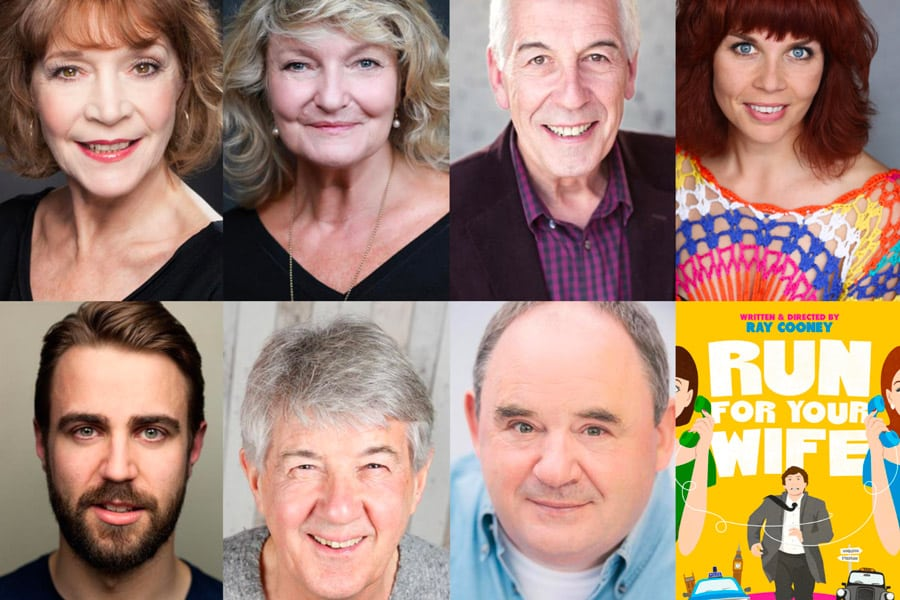 Cast announced for Ray Cooney's Run For Your Wife at Sonning Mill