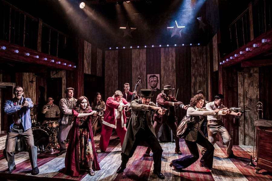 Assassins review Watermill Theatre