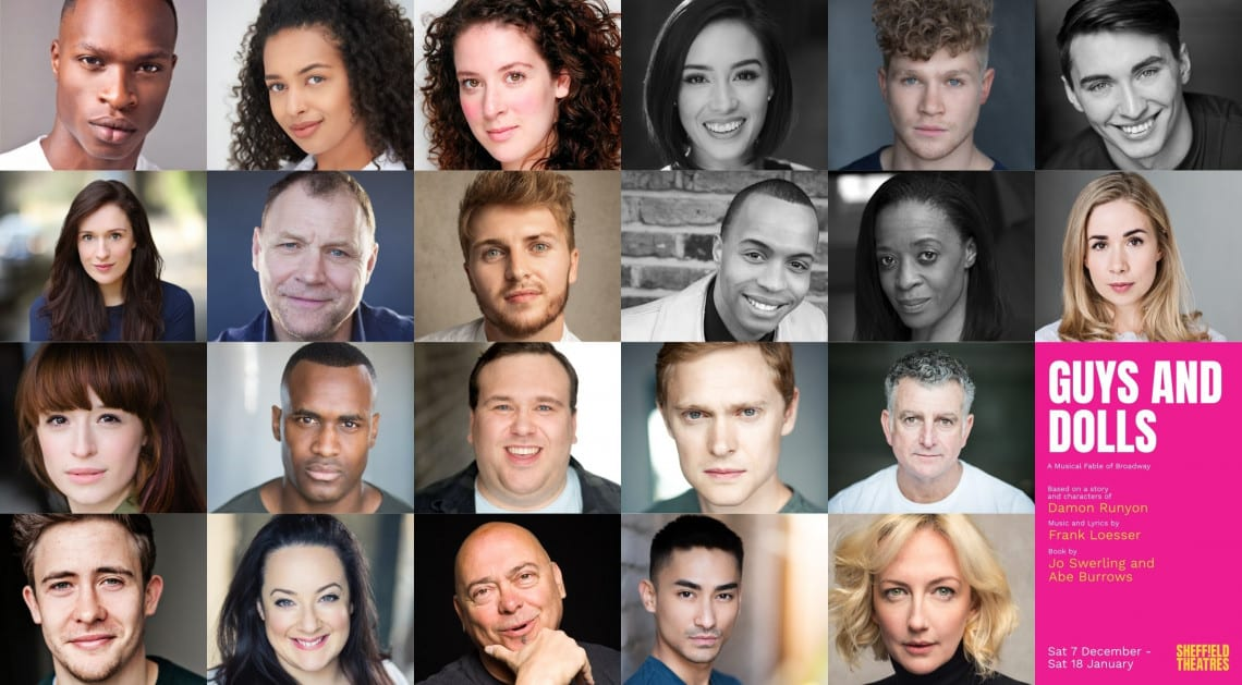 Guys and Dolls Cast Sheffield Theatres 2019