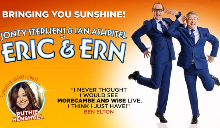 Eric and Ern hit the West End with Ruthie Henshall for Two Nights Only