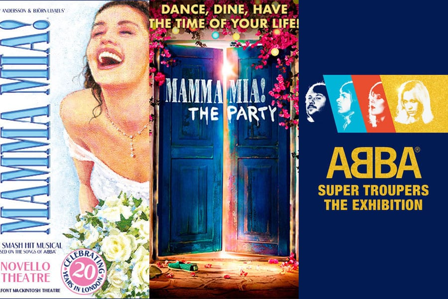 ABBA in London - the musical, the party, the exhibition. Book Now!