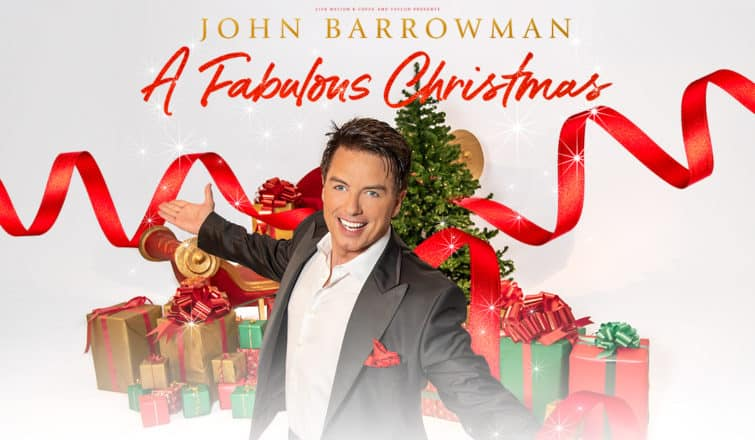 INTERVIEW: John Barrowman talks about his fabulous Christmas tour