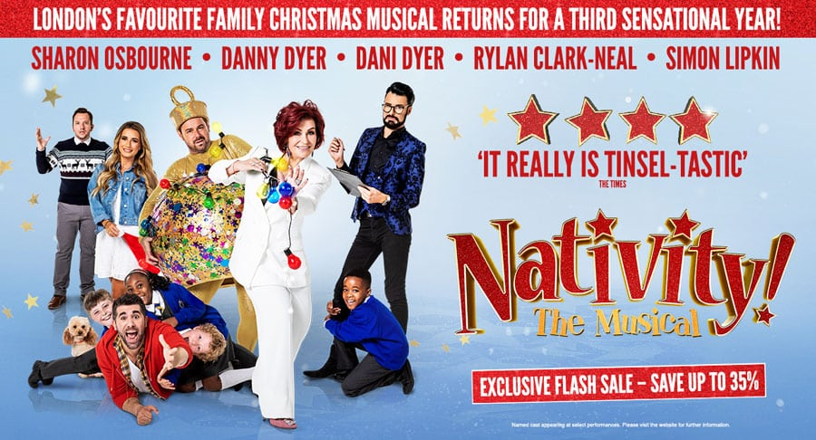 Nativity the musical London Flash Sale - Save up to 35% Book by 15th Nov