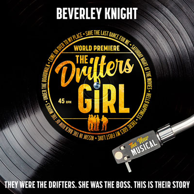 The Drifters Girl to star Beverley Knight at the Garrick Theatre London