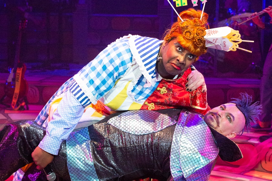 Aladdin review New Wolsey Theatre