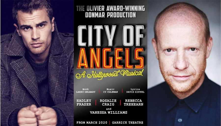 Theo James and Jonathan Slinger join City Of Angels cast