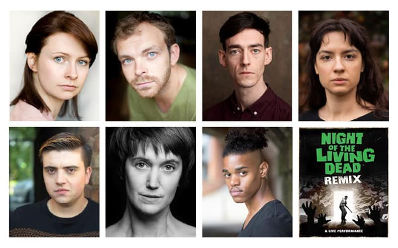 Night Of The Living Dead UK Tour Cast