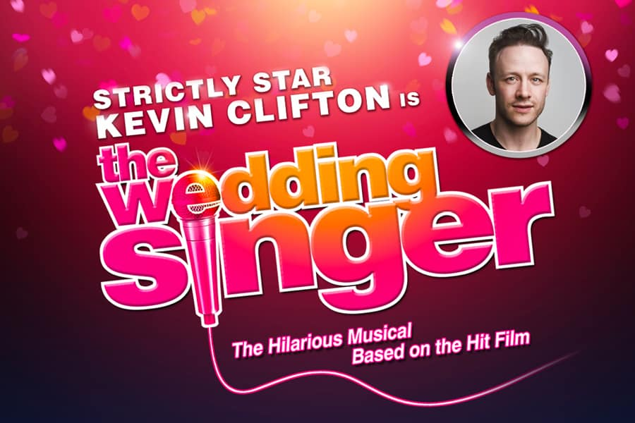 Kevin Clifton stars in The Wedding Singer at Troubadour Wembley Park