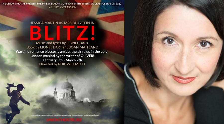 Jessica Martin heads cast of 19 in Union Theatre's Blitz! revival