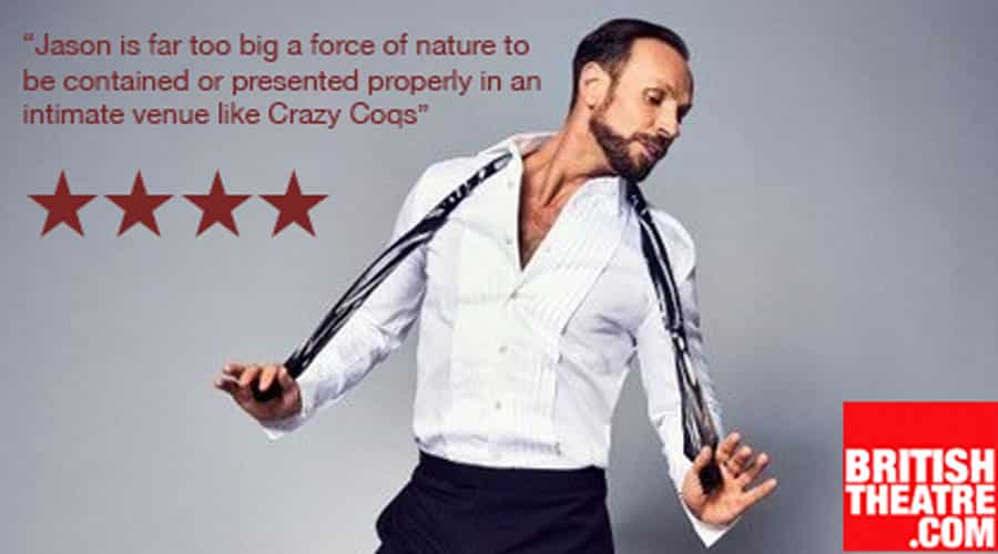 REVIEW: Jason Gardiner - In The Closet, Crazy Coqs London ✭✭✭✭