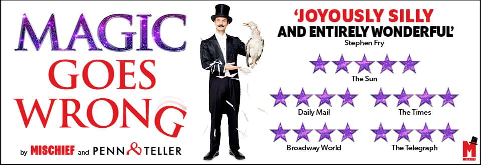 Magic Goes Wrong at the Vaudeville Theatre