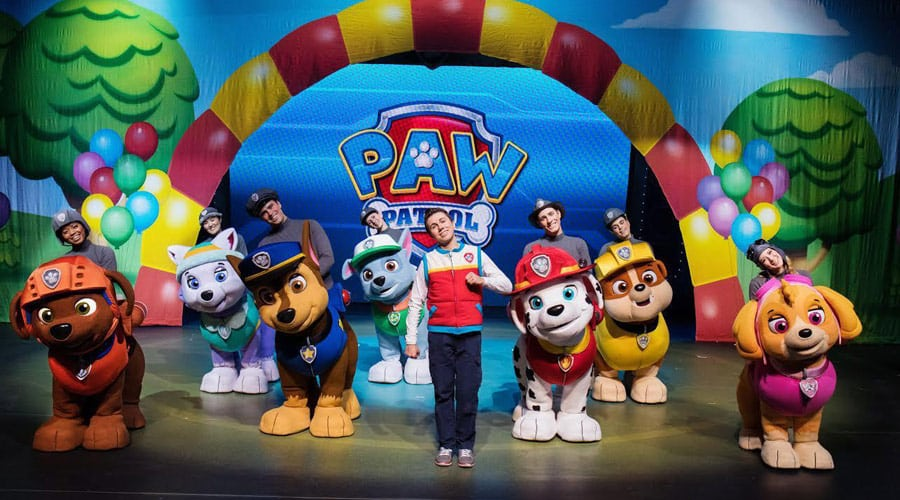 Paw Patrol Live Race To The Rescue UK Tour