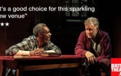 REVIEW: The Sunset Limited, Boulevard Theatre, London ✭✭✭