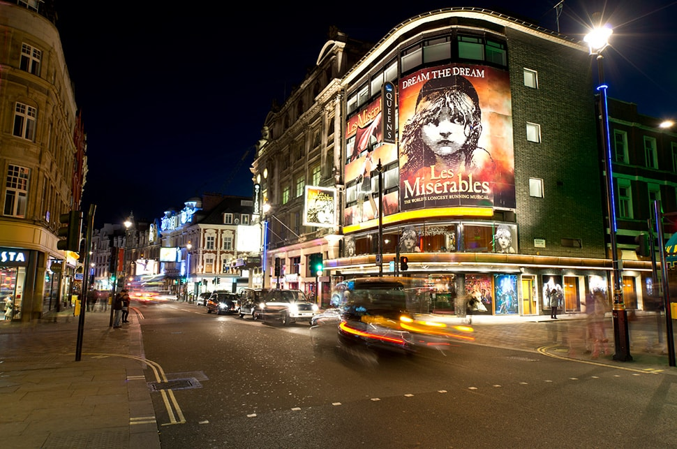 West End theatres closed due to Coronavirus