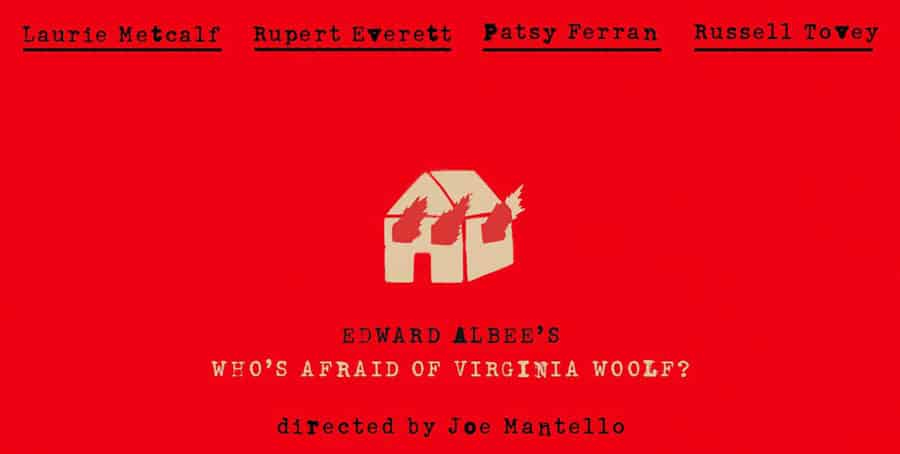 Who's Afraid Of Virginia Woolf Broadway closes