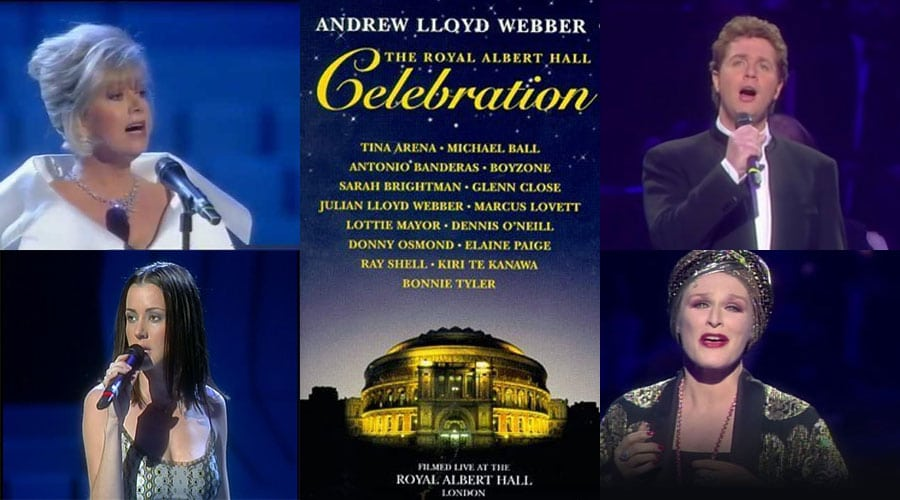 Andrew Lloyd Webber Musicals - this week Royal Albert Hall 50th