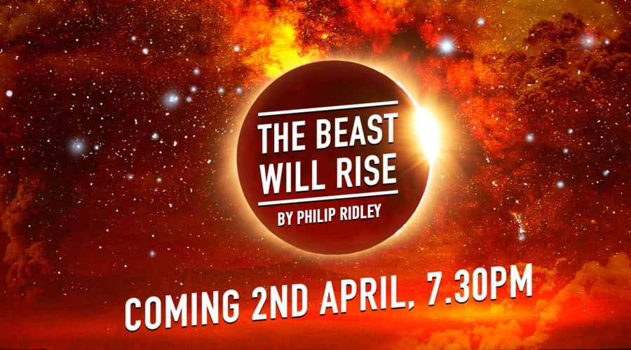 Philip Ridley to premiere The Beast Will Rise a series of online monologues